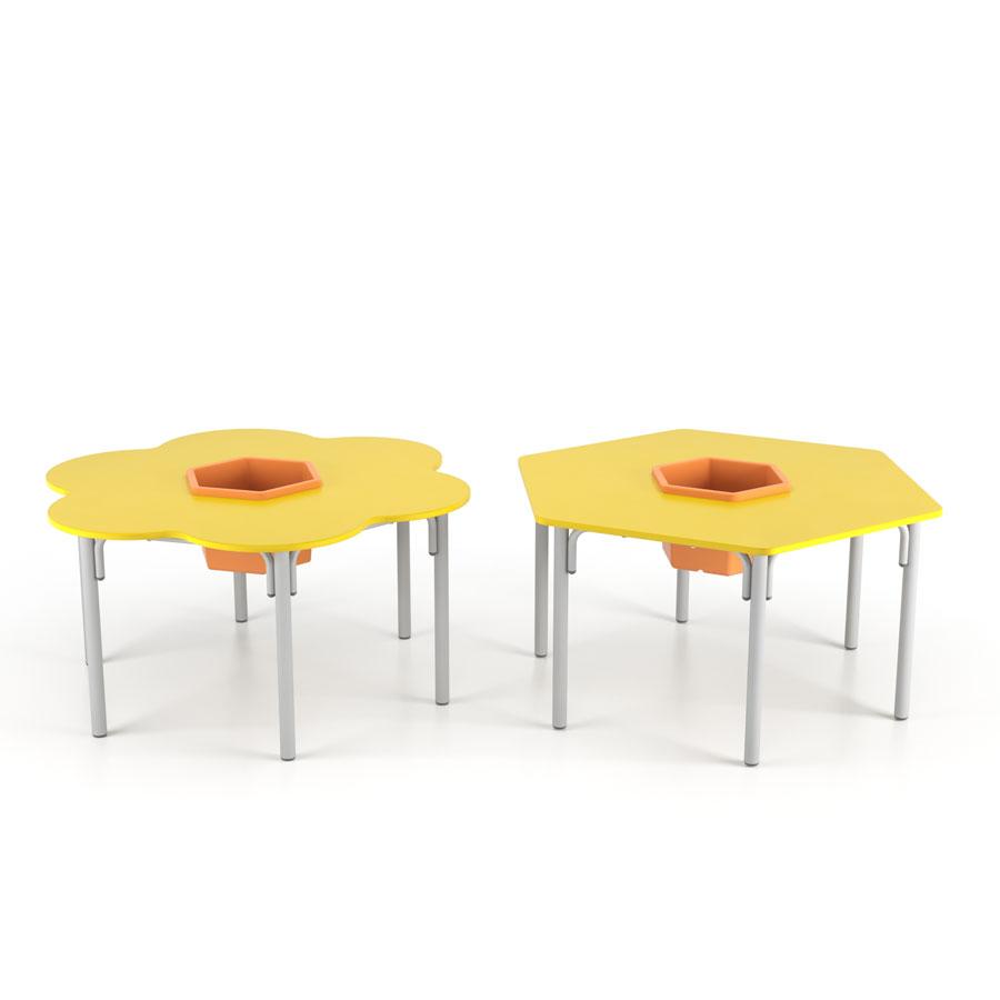 mesa de escola de crianças