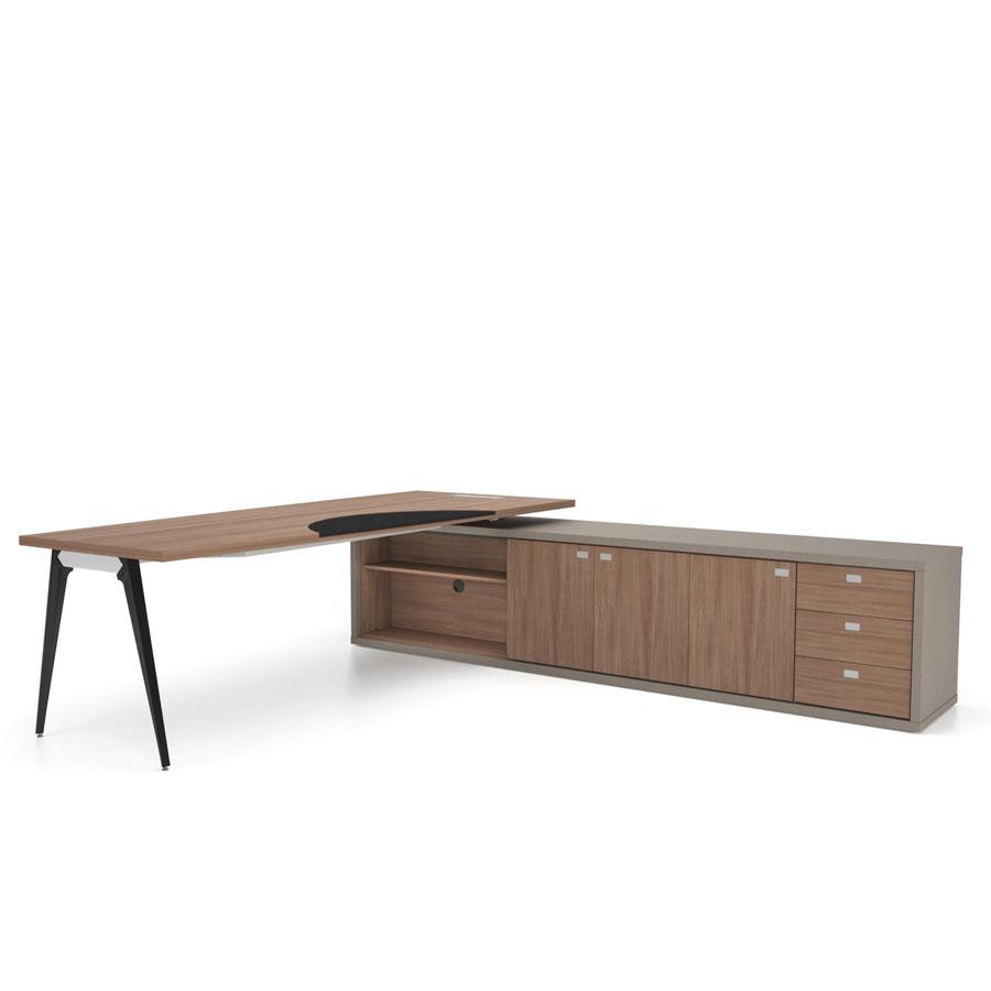 mesa executiva de madeira